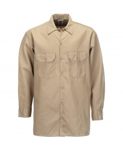Dickies - 574BK Long Work Shirt Khaki