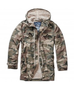 Brandit - BW Parka Men 3137-107 Light Woodland