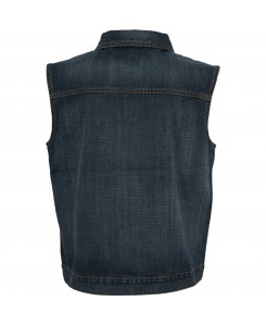 Urban Classics - TB514 denimblue, Denim Vest