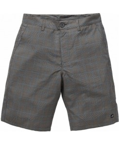 Vintage Industries - Detroit Short Grey Check