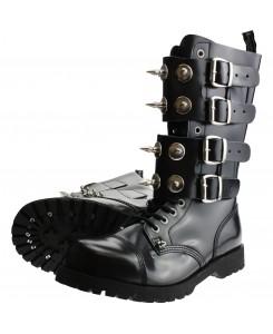 Boots & Braces - 14-Loch Scare 4-Schnallen