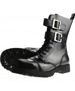 Boots & Braces - 10-Loch 2-Schnallen