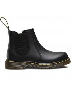 Dr. Martens - Shenzi Softy T black Infants chelsea Boot Black Smooth, 16704001