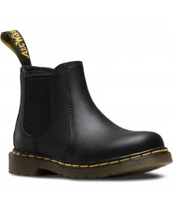 Dr. Martens - Shenzi Softy T black Infants chelsea Boot Black Smooth, 16704001