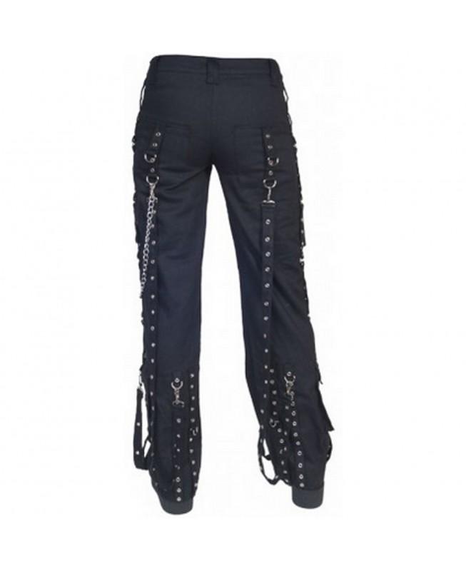 Rebel Pant Trouser Punk Metal Gothik Rock Nietenhose Hose Black KuroNeko
