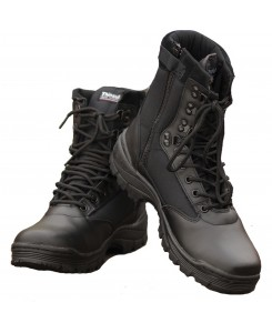 Mil-Tec - TACTICAL BOOT M.YKK ZIPPER 12822102 SCHWARZ