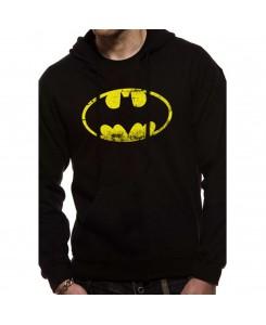 CID - Batman - Schwarz Logo Hoodie