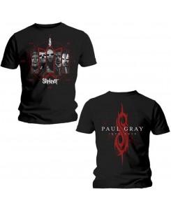 Slipknot - Slipknot Men's Back Print Tee: Paul Gray
