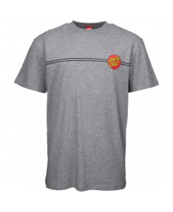 Santa Cruz - Og Classic Dot Tee SCA-TEE-3099 Dark Heather