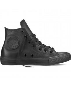 Converse - Converse Hi 135251C Mono All Black Leder