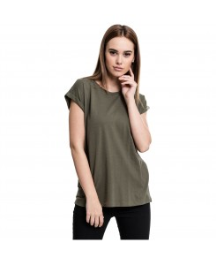 Urban Classics - Ladies Extended Shoulder Tee TB771 olive