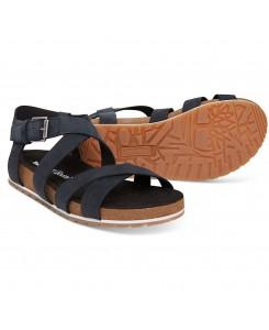 Timberland - Malibu Waves Ankle Strap Sandal TB0A1MR3015 Black Nubuck
