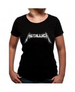 CID - Metallica - Corrosive Fitted Girl Logo T-Shirt