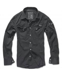 Brandit - SlimFit Shirt Schwarz 4005-2