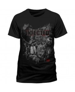 CID - THE WALKING DEAD - Infected Logo T-Shirt