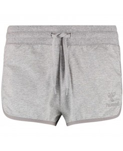 Hummel - CLASSIC BEE WOMENS TECH SHORTS grey melange 107602006