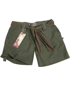 Mil-Tec - ARMY SHORTS WOMAN OLIV 11137001