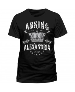 CID - Asking Alexandria - Crown LOGO Schwarz