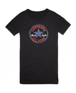 Converse - Chuck Patch-T-Shirt 13453C Dress Black/Schwarz T-Shirt