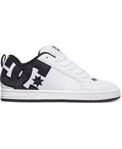 DC - Court Graffik SE WHITE/GREY/BLACK 300927 (wg2)