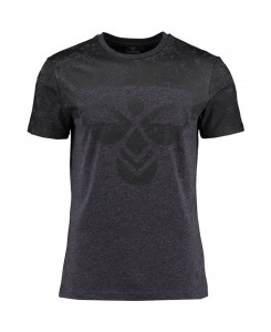 Hummel - BRENDT SS TEE Charcoal 09787 2013