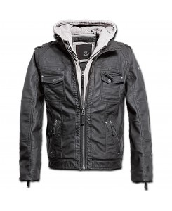 Brandit - Black Rock Hooded Grau 9