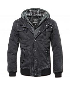 Brandit - Dayton Jacket + Sweathood 3139-2 schwarz