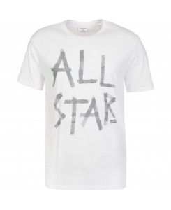 Converse - Reflective Tape All Star tee White 10001199 102