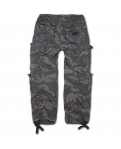 Brandit - Pure Vintage Trouser 1003-4 Darkcamo