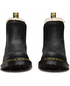 Dr. Martens - Leonore BURNISHED WYOMING Black 21045001
