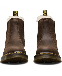 Dr. Martens - Leonore BURNISHED WYOMING DK.Brown 21069201