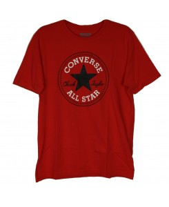Converse - Chuck Patch-T-Shirt 10002848 934 Red T-Shirt