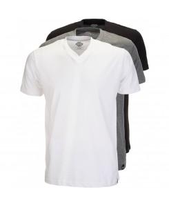 Dickies - T-Shirt Pack 3x Men Multi Colour V-Neck