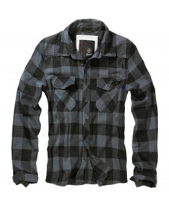 Brandit - Checkshirt 4002-28 black/grey checked