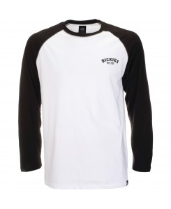 Dickies - Baseball Black T-Shirt Longsleeve Raglan 06210275