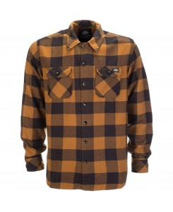 Dickies - 05200142 Sacramento Karohemd Brown Duck