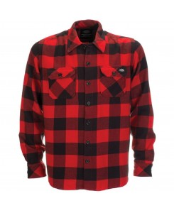 Dickies - 05200142 Sacramento Karohemd Red