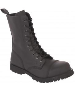 Boots & Braces - 10-Loch Flat 601350 Black