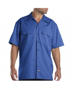 Dickies - Shrt/S Work Shirt 1574RB Royal Blue (RB)