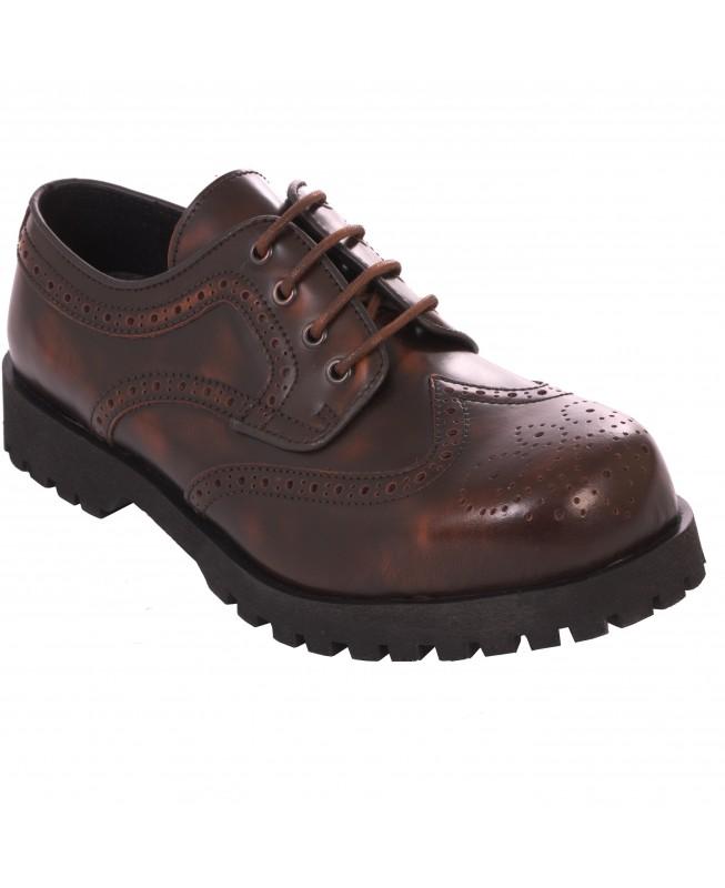 more photos 37c5e d2187 Boots & Braces - Budapester 601108 Braun rub-off