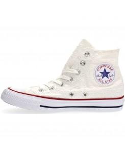 Converse - CTAS HI 555978C white/garnet/clematis blue