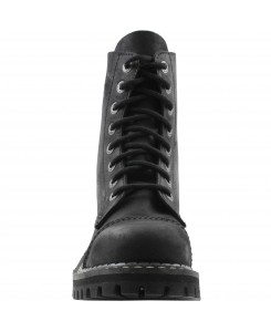 Angry Itch - 8-Loch Stiefel AI08/VBL/LE Vintage Black