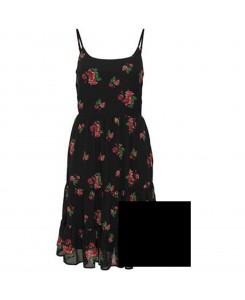 Only - onlROSALIE Strap Short Dress WVN 15145060 Black