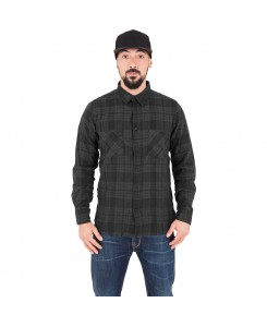 Urban Classics - TB1140 cha/blk, Checked Flanell Shirt 2