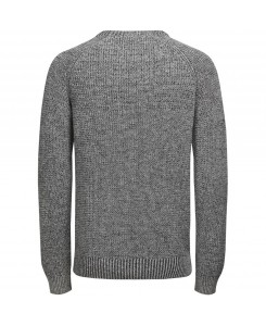 Jack & Jones - JORUMUT KNIT CREW NECK 12118174 Light Grey Melange/Knit