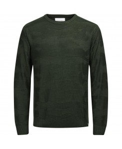 Jack & Jones - JCOCAMO KNIT CREW NECK 12126233 Rosin/Knit Fit