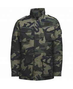 Jack & Jones - JORREP FIELD JACKET 12124891 Thyme/Classic Camo