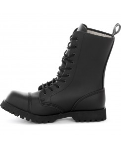 Boots & Braces - 10-Loch Vegetarian Winter 601308 Schwarz