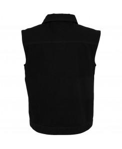 Urban Classics - TB514 blackraw, Denim Vest