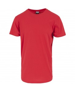 Urban Classics - TB638 Shaped Long Tee fire red